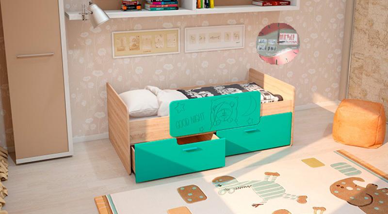 """Настоящая мебель """"умка к-001"""": от 155,00 руб. - детские кров."""